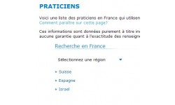 Inscription sur la liste des praticiens Xede