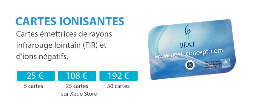 Cartes ionisantes